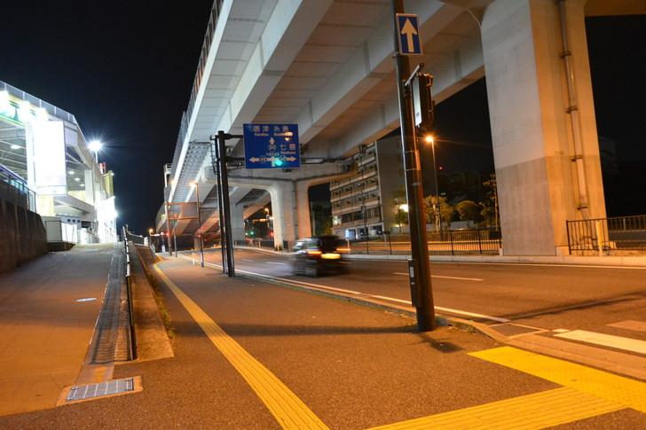 片江:少ない交通量がまた良い