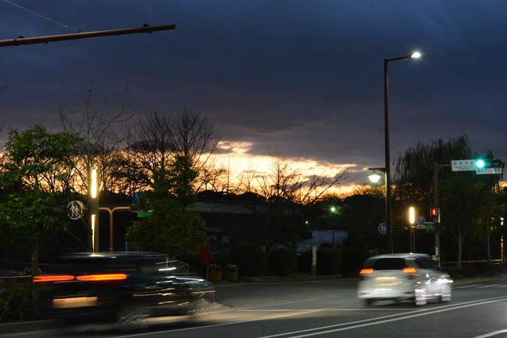 【福岡散歩日誌7】夕方の「舞鶴・赤坂辺り」を散歩【12月】:夕日