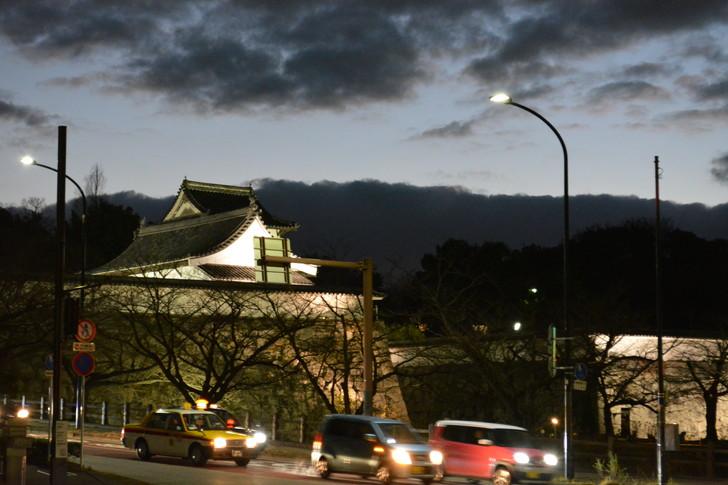 【福岡散歩日誌7】夕方の「舞鶴・赤坂辺り」を散歩【12月】:福岡城