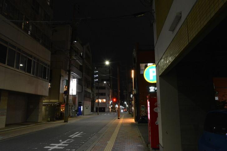 【福岡散歩日誌7】夕方の「舞鶴・赤坂辺り」を散歩【12月】:昭和通りへ戻る途中