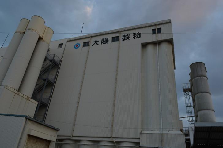 福岡散歩日誌:太陽製粉の工場
