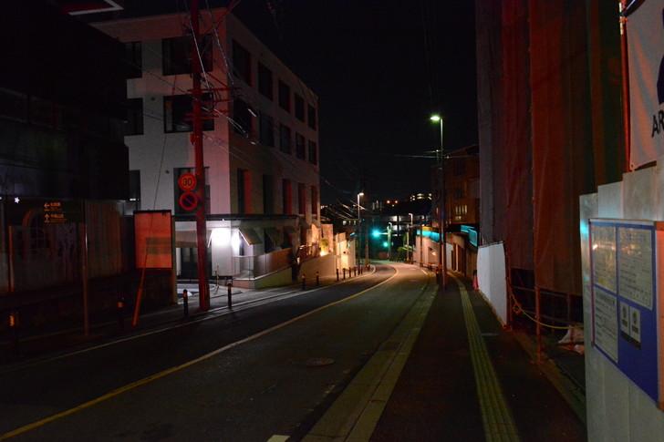 【福岡散歩日誌4】深夜の浄水通り:これから下り坂