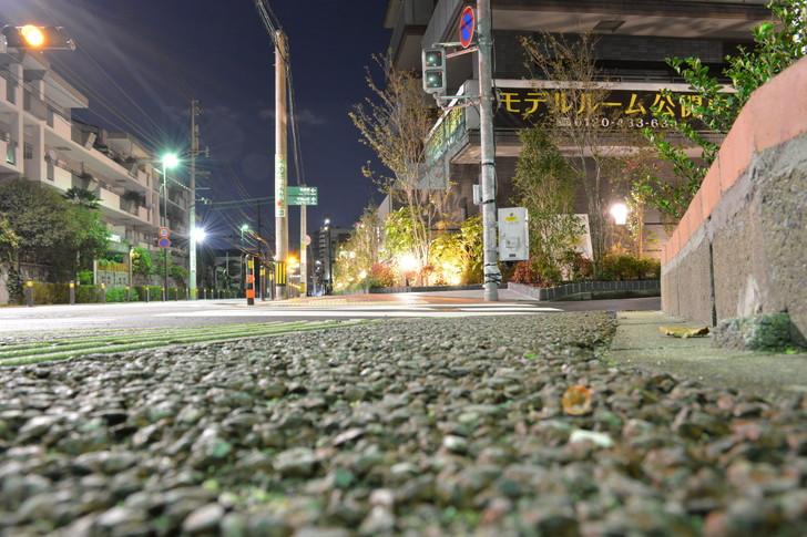 【福岡散歩日誌4】深夜の浄水通り:浄水通から山荘通への道