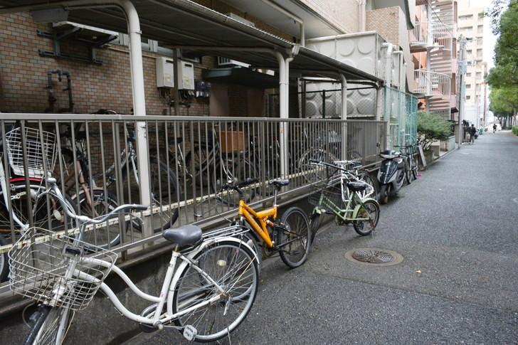 福岡散歩日誌:たくさんの自転車