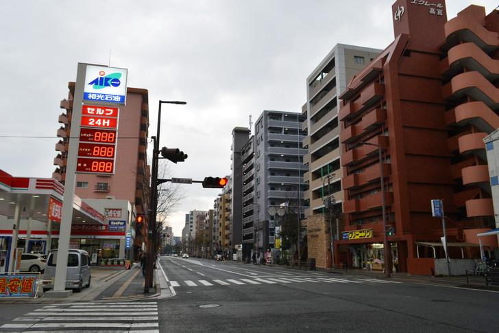 福岡散歩日誌:高宮通り