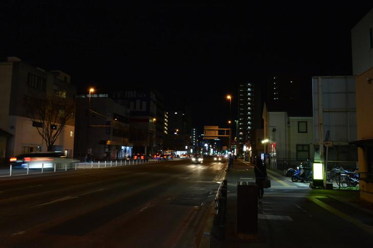 【福岡散歩日誌6】「渡辺通り」から「那の川」辺りを散歩【12月】:「渡辺通り」から「那の川」辺りを散歩:かに本家を過ぎた辺り