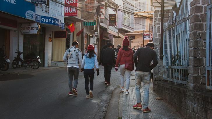 散歩の魅力④街に愛着が湧く