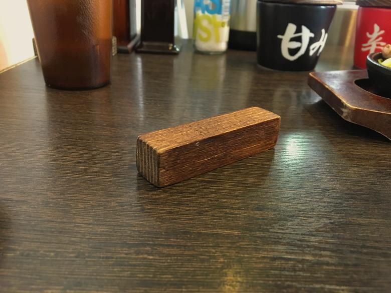 平尾駅近く「スタミナ鉄板焼 鉄男(アイアンマン)平尾店」グルメレポート:積み木のようなもの
