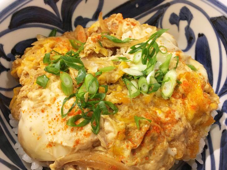 【薬院】細麺五島うどん!「萬田うどん」のグルメレポート:カツ丼