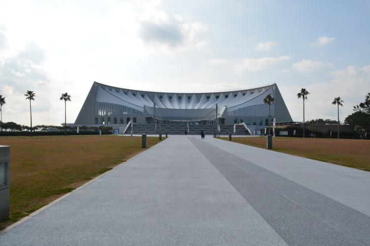 「マリンワールド」と「志賀島」を散歩:マリンワールドの入り口