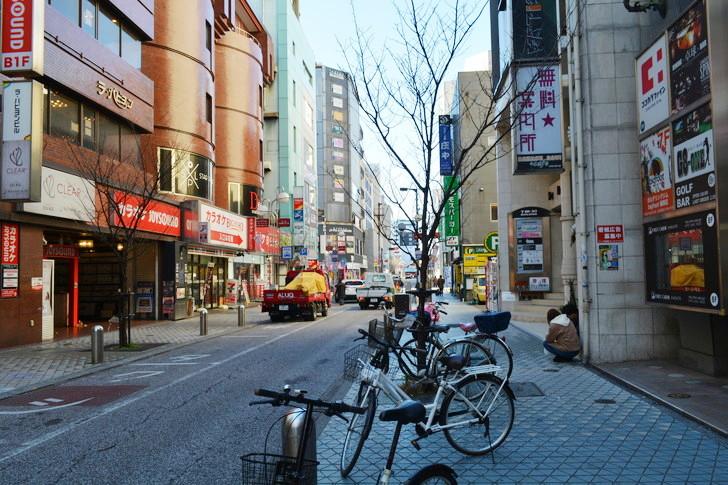 【福岡散歩日誌9】昼の「中州」を散歩【1月】:中州中央通り