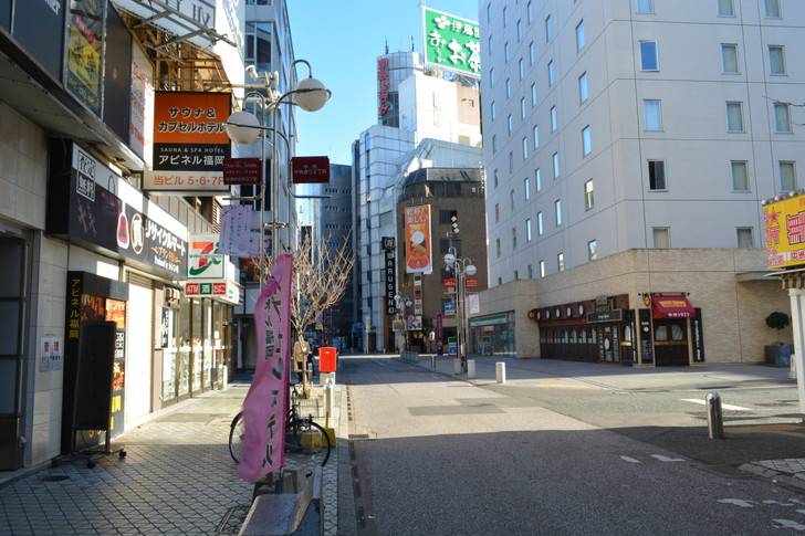 【福岡散歩日誌9】昼の「中州」を散歩【1月】:中州中央通り2