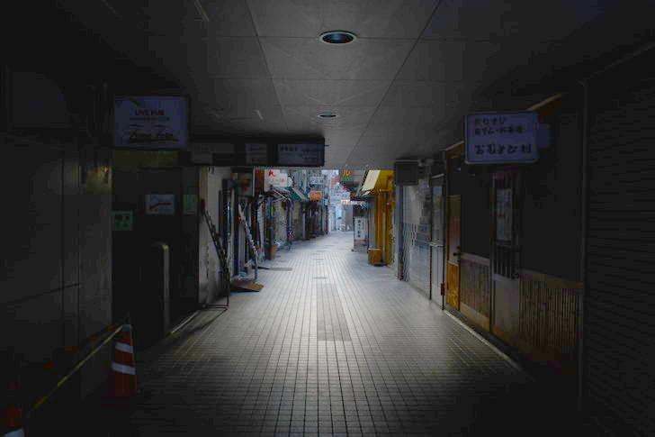【福岡散歩日誌9】昼の「中州」を散歩【1月】:多門通り入ってすぐ