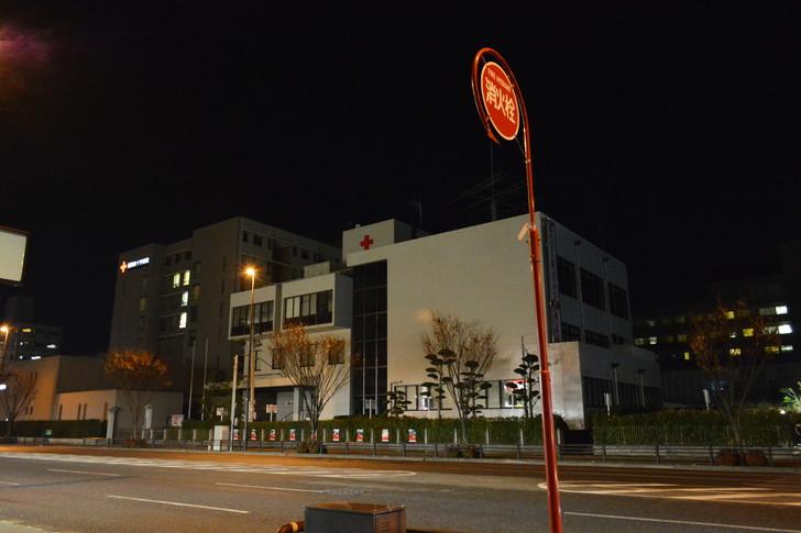 「日赤病院前(日赤通り)」と「高宮駅」近くの飲食店街を散歩【1月】:日赤病院