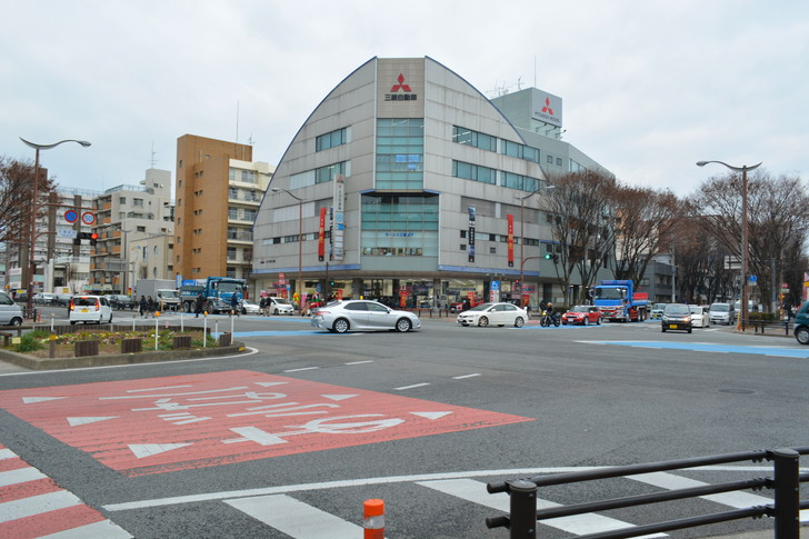 大橋駅前交差点