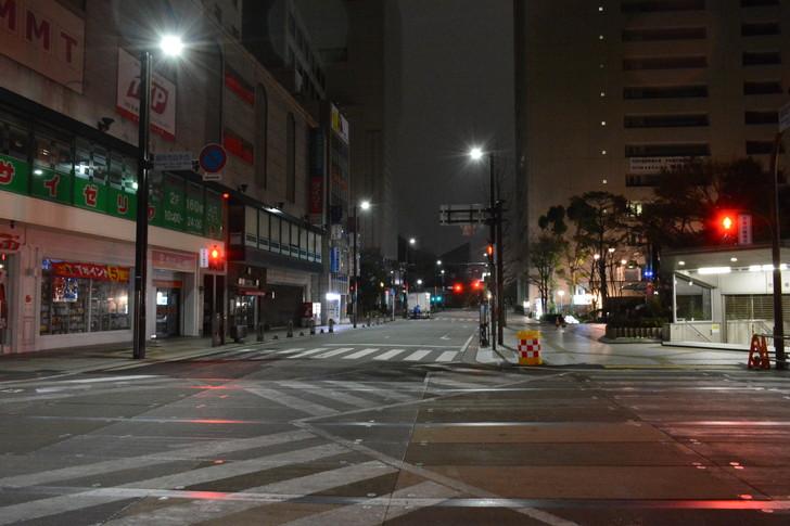 ジュンク堂とかビブレのとこの交差点