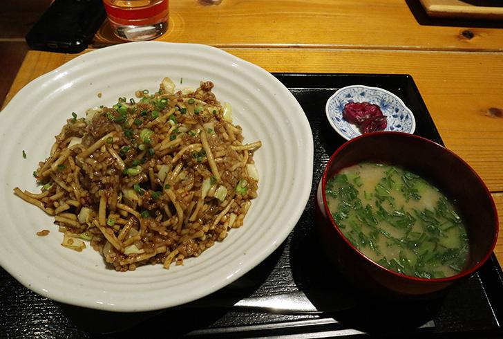 ソバめし 750円