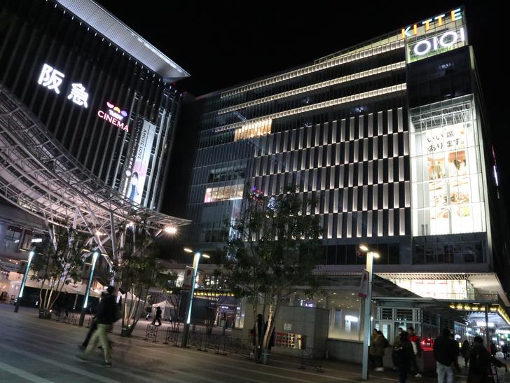 キレイで開放的な景観、都会感を楽しめる「博多駅~サンロード商店街」までを散歩:KITTE