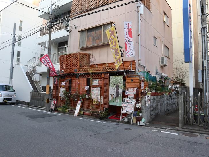 落ち着いた雰囲気の裏道「平尾(山荘通)~薬院大通付近」を散歩:500円ランチをやってるお店