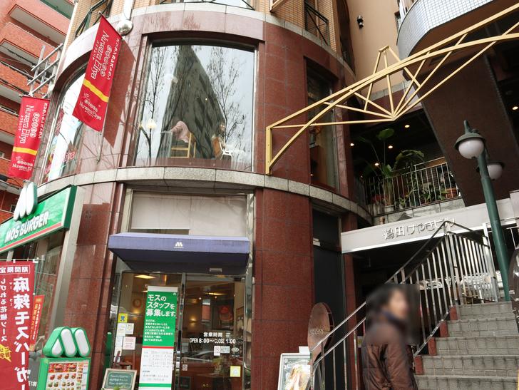 【赤坂】毎週通える本格スリランカカリー「ヌワラエリヤ」グルメレポート:外観(階段)