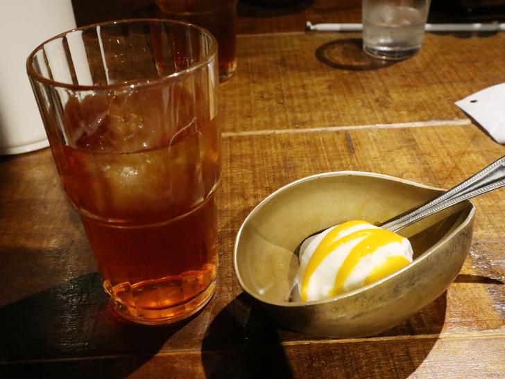 【赤坂】毎週通える本格スリランカカリー「ヌワラエリヤ」グルメレポート:食後のドリンクとデザート