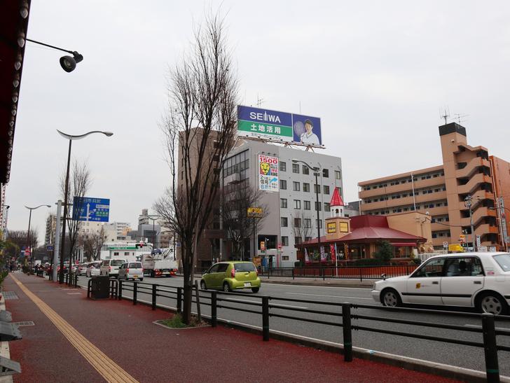 区役所周りの落ち着いた通り「福岡市南区塩原」をゆったり散歩:日赤通り