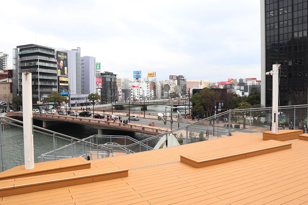【博多・西中洲】「水上公園」で都会の美しさを体感しよう