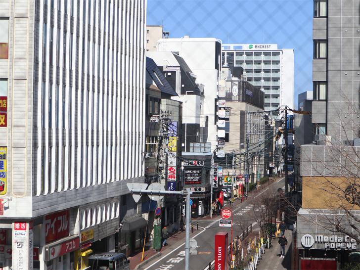 【天神】3階からの眺めが最高!「タリーズコーヒー 天神店」レポート:3階からの眺め2