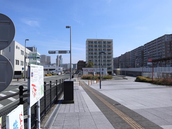 【福岡市東区】晴れた青空が似合う「名島駅」の周辺写真:「名島駅」周辺2