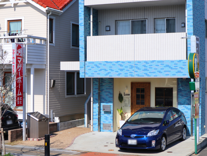 【福岡市東区】晴れた青空が似合う「名島駅」の周辺写真:美容院「Luce【ルーチェ】」