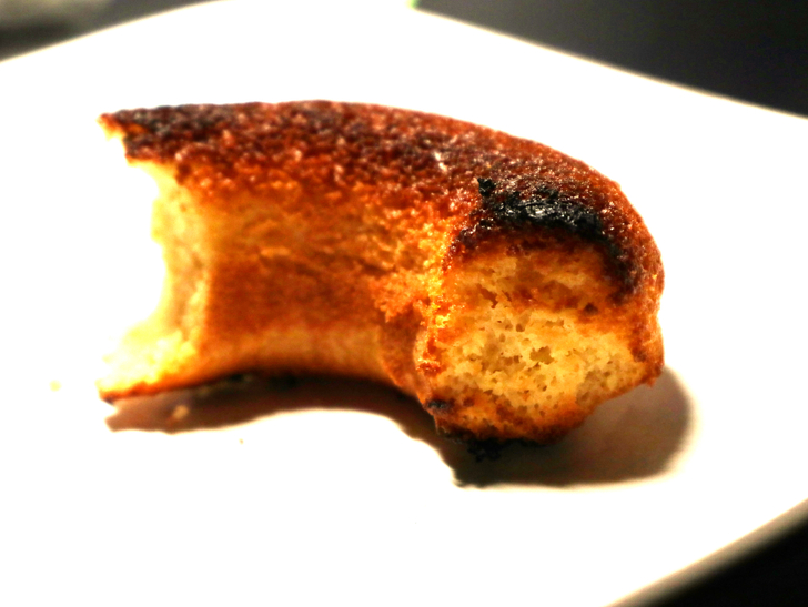 【薬院】可愛くて優しい焼きドーナツ屋さん「よつばドーナツ」グルメレポート:トースターで軽く焼いてみた