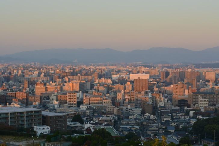 でも福岡の街はこんなに広い