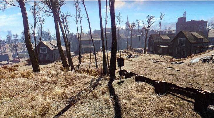 Fallout4の景色