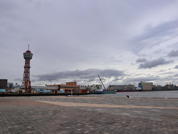 【博多区沖浜町】海に面した不思議なエリアを散歩
