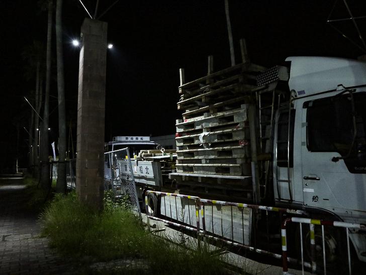 【ベイサイドプレイス博多(深夜)】やっぱり夜の海は良い: トラック