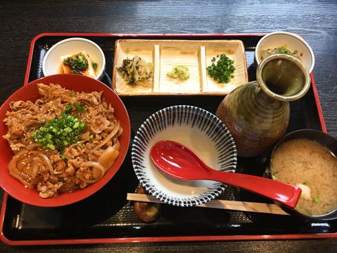 ひつま豚丼(850円)