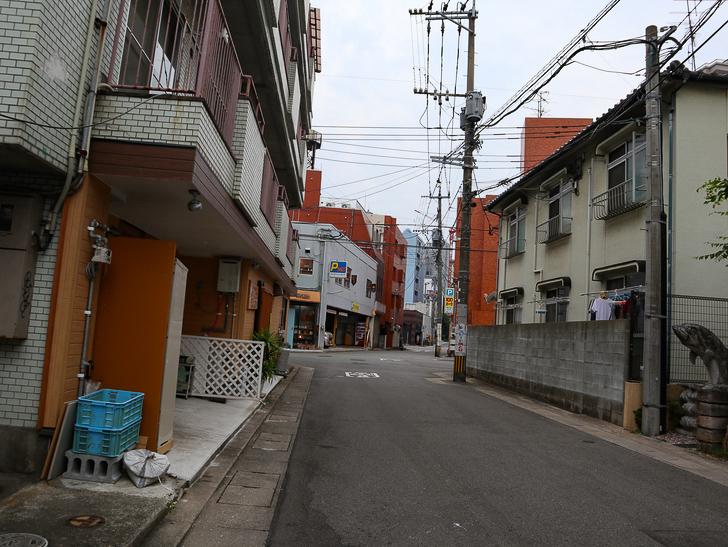 天神近くにある避暑地「西公園」「光雲神社」を散歩: 路地