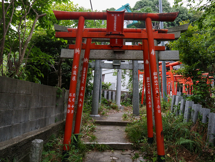 天神近くにある避暑地「西公園」「光雲神社」を散歩: 中司孫太郎稲荷神社