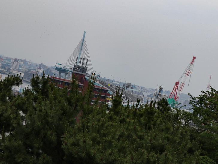 天神近くにある避暑地「西公園」「光雲神社」を散歩: 展望スペースからの景色②