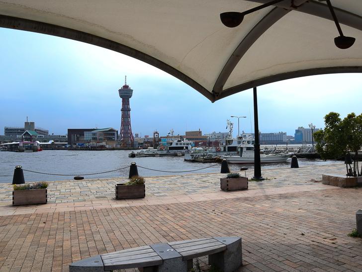 【中央区・博多区】「築港本町」あたりをゆったり散歩: 博多ポートタワー