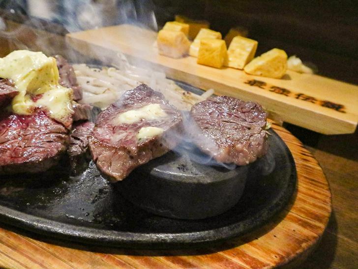 【高砂】贅沢「ステーキ」とリーズナブルな「お好み焼き」が楽しめる「一番星」グルメレポート: サガリステーキ