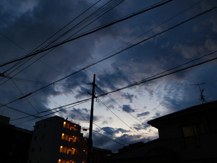 19:30の空