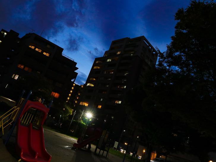 夜の市崎公園2