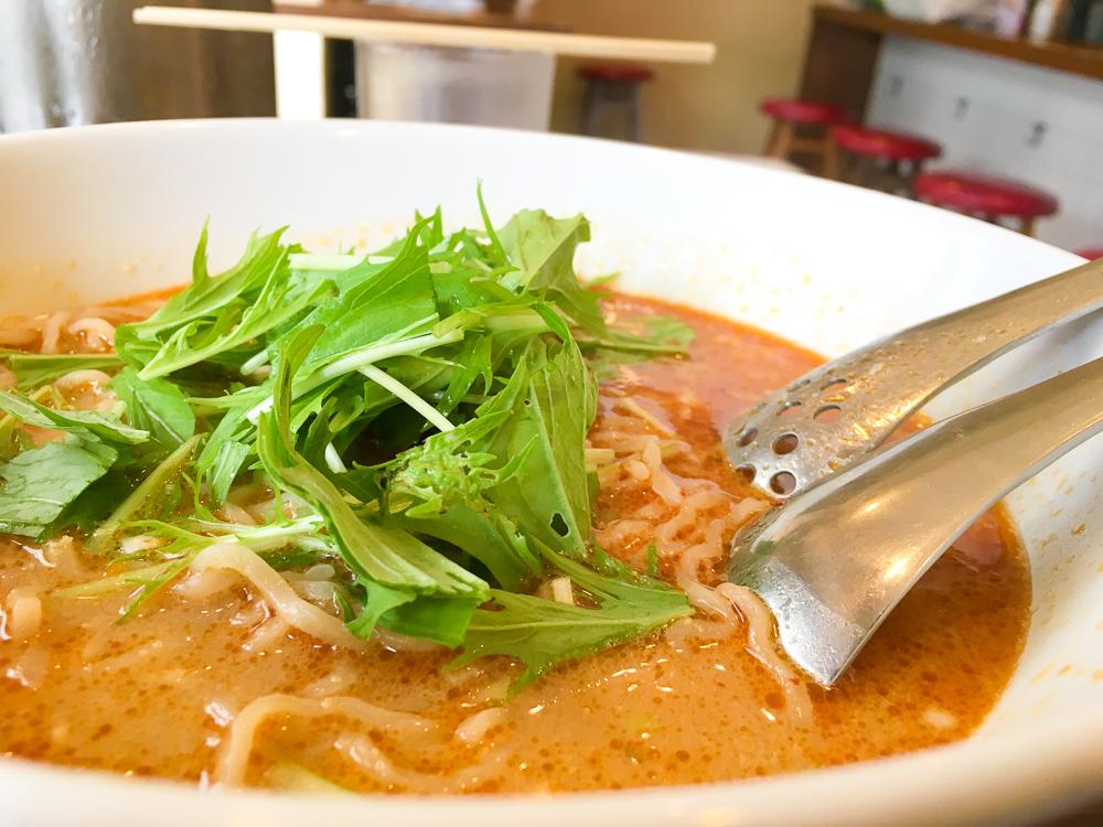 【薬院】担々麺ランチがオススメ!餃子の「竹餃(タケチャオ)」グルメレポート