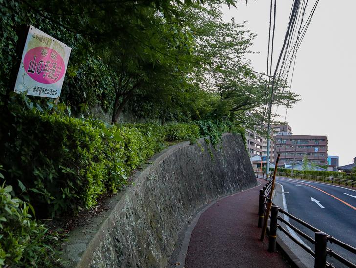 桜坂 山の手通り