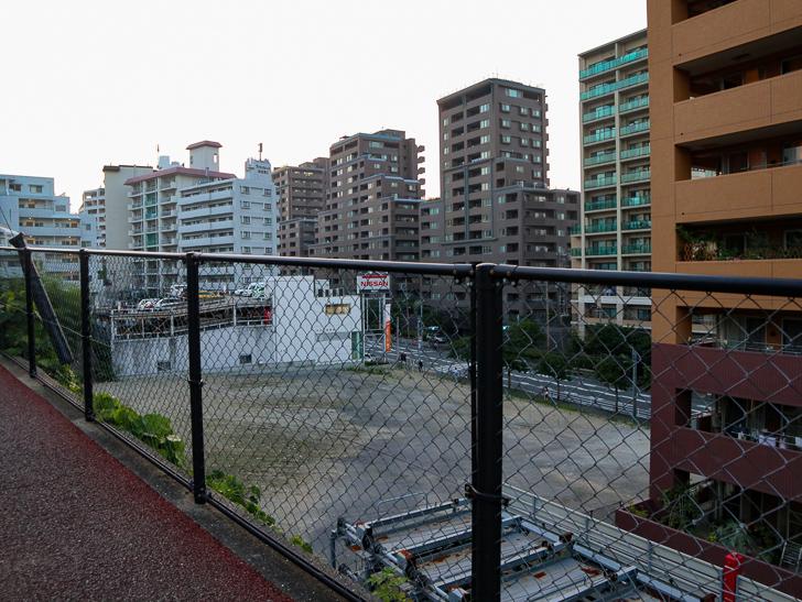 桜坂3丁目付近