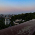 【輝国1丁目・桜坂】夕暮れ時、「南公園西展望台」からの景色を楽しんできた