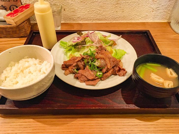 生姜焼き定食(780円)