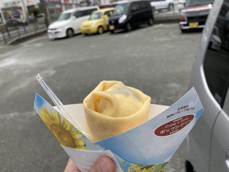 クランチチョコアイスクレープ(500円)