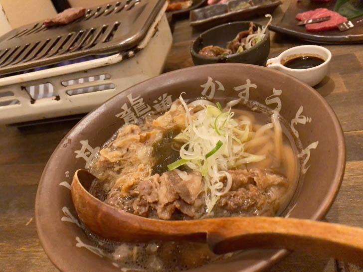 肉かすうどん(950円)